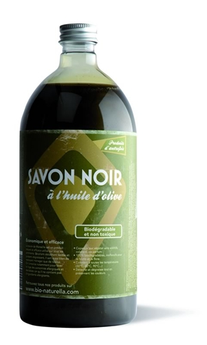 Savon noir liquide l 39 huile d 39 olive 1 l for Goudron liquide exterieur