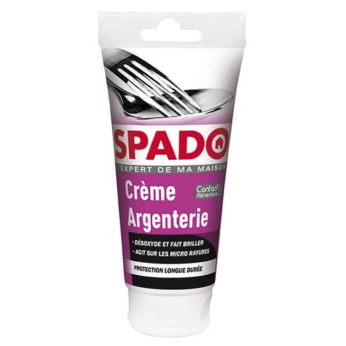 Nappe Bois Et Chiffon : Spado nettoyant argenterie 175ml