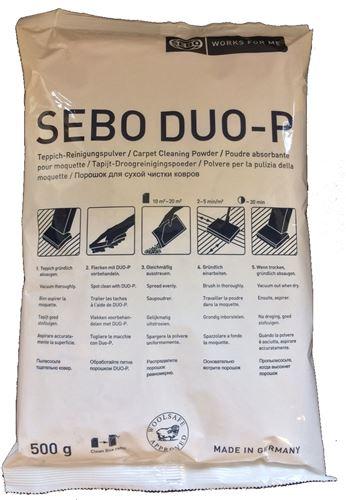 Sebo poudre absorbante pour nettoyeur moquette - Poudre pour nettoyer moquette ...