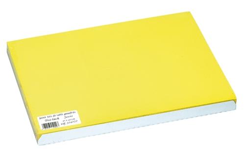 set de table papier 30 x 40 jaune paquet de 500. Black Bedroom Furniture Sets. Home Design Ideas