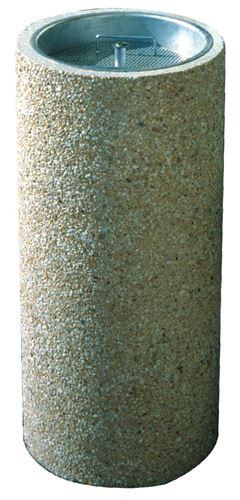 Cendrier exterieur beton bac a sable stable au vent for Cendrier exterieur