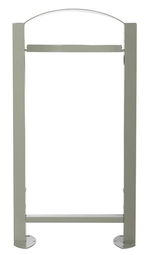 poubelle exterieure vigipirate rossignol 60l pieds gris ciment. Black Bedroom Furniture Sets. Home Design Ideas