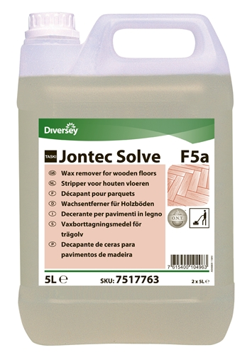 Nappe Bois Et Chiffon : Jontec Solve F5a decapant bois et parquet 5 L