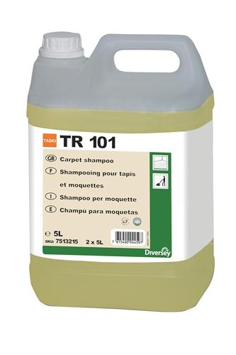 Taski tr101 shampoing moquette bidon de 5 litres - Eau ecarlate shampoing moquette ...