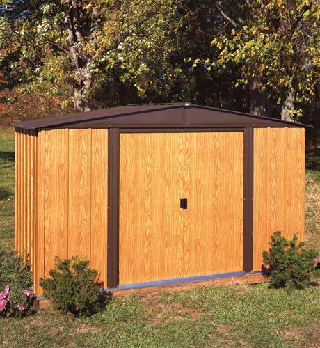 abri de jardin arrow wl106 en acier galvanis 5 m2. Black Bedroom Furniture Sets. Home Design Ideas