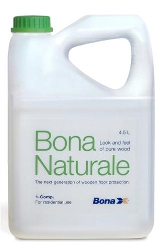 Nappe Bois Et Chiffon : Bona naturale protection parquet monocomposant 4,5 L
