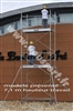 Echafaudage roulant en acier AC 250 Duarib 3,80 mètres