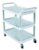 Chariot Rubbermaid XTRA blanc ouvert