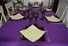 Rouleau nappe non tissé violet intissée 1,20 x 25 m