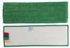 Frange microfibre sol velcro 40 cm verte