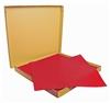 Nappe papier 60 x 60 cm rouge vif colis de 500
