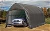 Garage demontable voiture structure acier et polyethylene 3,9 x 6,1 m