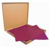 Nappe papier 70 x 70 cm bordeaux colis de 500