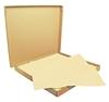 Nappe papier 70 x 70 cm ivoire colis de 500