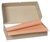 Nappe papier 80 x 120 cm saumon colis de 250