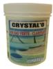 Crystal'o sos eau verte produit piscine clarifant pot de 200 grs
