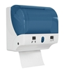 Distributeur essuie mains rouleaux decoupe automatique