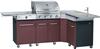 Cuisine exterieure barbecue à gaz Favex Master Kitchen marron