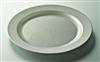 Assiette jetable argent ronde prestige D 190 mm colis de 96