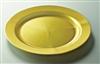 Assiette jetable or ronde prestige D 190 mm colis de 96