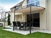 Tonnelle de jardin toile coulissante adossee Andalouse Prestige 2013