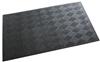 Tapis recyclé accueil Nomad 3 M gris 85 x 150 cm