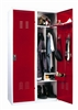 Vestaire metallique pompier 2 colonne