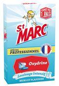 Lessive Saint Marc oxydrine professionnel lessivage des murs 1,8 kg