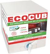 Ecocub sanitaire nettoyant Ecolabel 10 L
