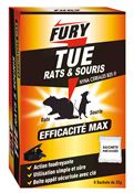 Raticide et souricide Fury 150 grs