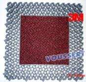 Tapis NOMAD Modular Rouge 8900 dalle mixte