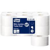 Papier toilette mini jumbo Tork 240m colis de 12 rouleaux
