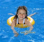 Bouée Swimtrainer enfant Jaune 4 à 8 ans