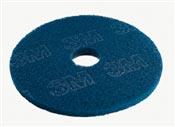 Disque Scotch Brite 3M bleu 406 mm colis de 5