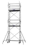 Echafaudage roulant en acier AC 200 Duarib 7,10 mètres