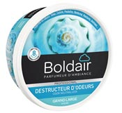 Destructeur d'odeur gel Boldair désodorisant grand large 300 grs