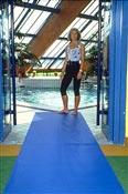 Tapis antiderapant pour zone humide Safety-Walk 3200 bleu