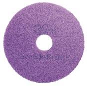 Disque cristallisation Scotch Brite 3M mauve 254 mm colis de 5