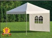 Rideau pour tente pliable Shelter PopUp 3 m avec fenetre
