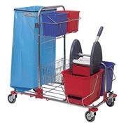Chariot de menage lavage