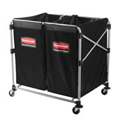 Chariot linge hotel Rubbermaid X Cart 300 L
