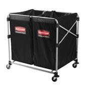 Chariot linge hotel Rubbermaid X Cart 300 L