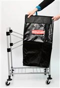 Sac a linge chariot X Cart Rubbermaid 150 L