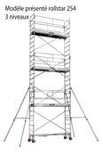 Echafaudage roulant acier Duarib rollstar 205 H 7,3m