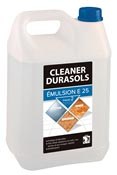 Cleaner durasols E25 emulsion cire 5L