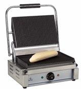 Grill à viande panini professionnel