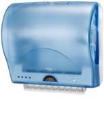 Distributeur d'essuie mains Enmotion Lotus Impulse bleu compact