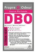 Propre odeur nettoyant surodorant DBO citron vert 250 doses