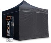 Tente pliable vitabri 3x3 noir standard