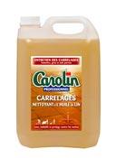 Carolin nettoyant sol l'huile de lin 5 L